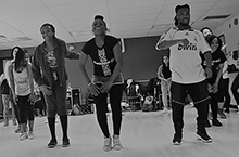 People dancing Djamboola.