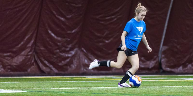 Women's soccer intramural
